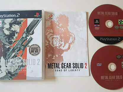 Metal gear solid 2.sons of liberty