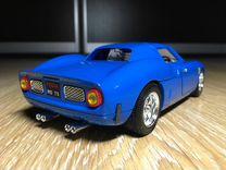 1/18 Ferrari 250 Le Mans Aqua Blue Bburago Italy