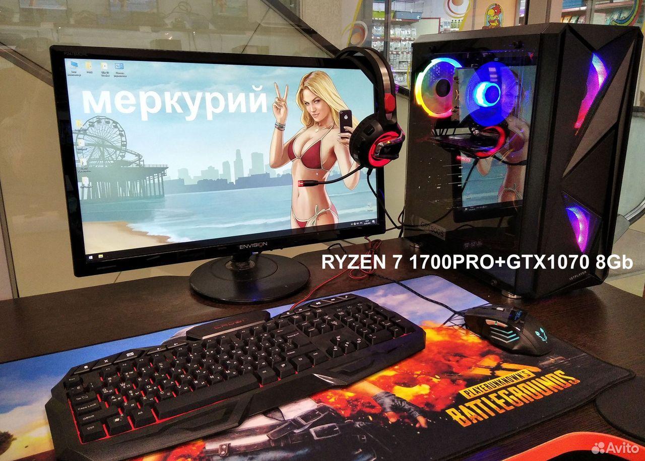 Ryzen 7 1700PRO + GTX 1070. Игровой пк