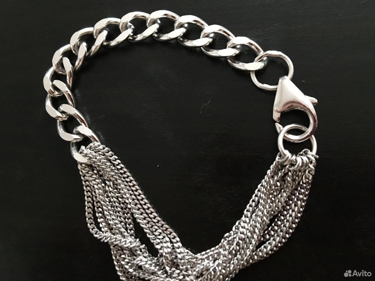 Браслет серебряный 925 родированый красцветмед  89130467467 купить 1
