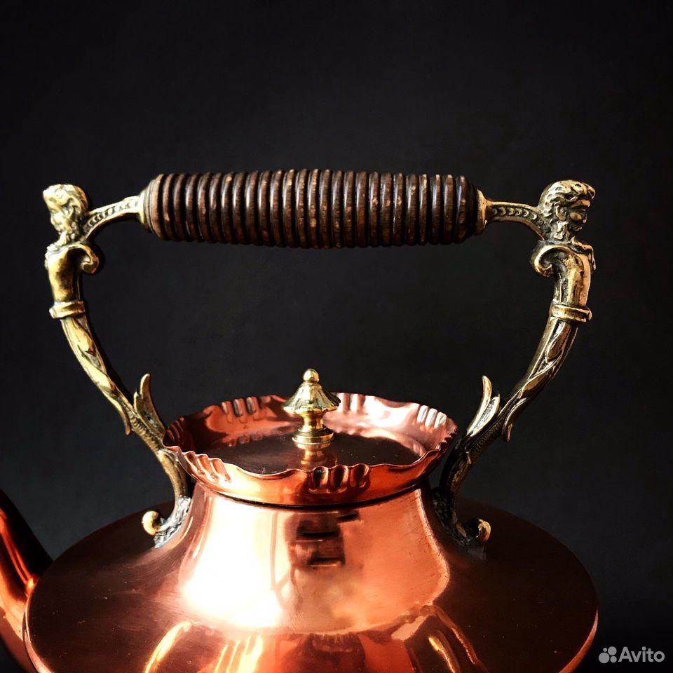 Чайник антикварный, 19 в, Германия  89064688820 купить 6