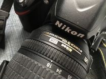 Комплект Nikon D3200+объектив+вспышка
