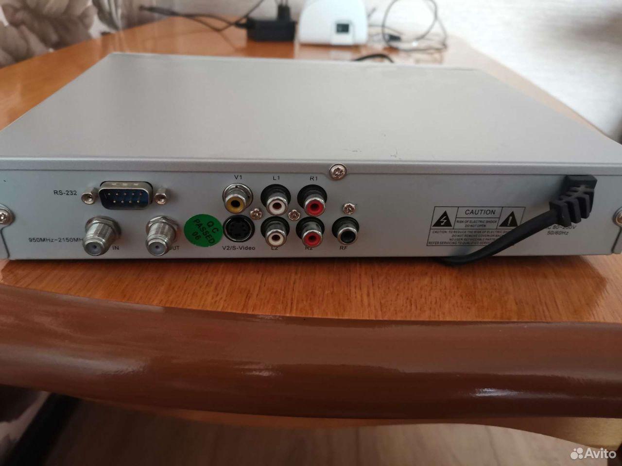 Ресивер спутникового телевиденья  89080046772 купить 2