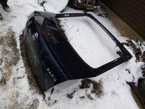 Крышка багажника шкода рапид