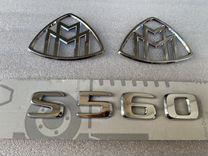 Эмблема крышки багажника Maybach S560 X222