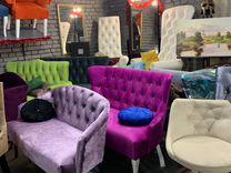 Кресло трон диван