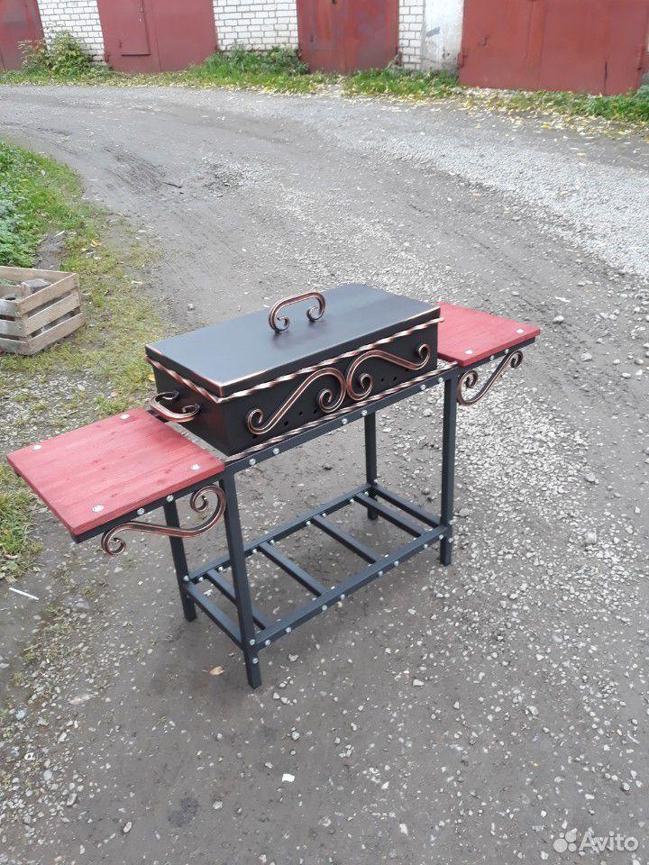 Мангал со столиками