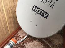 Спутниковая антенна (телекарта)